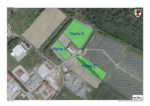 Flächen c bis D - Lageplan (Klick für PDF)